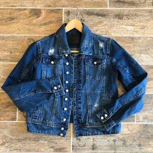 Blank NYC   Distressed Blue Jean Jacket